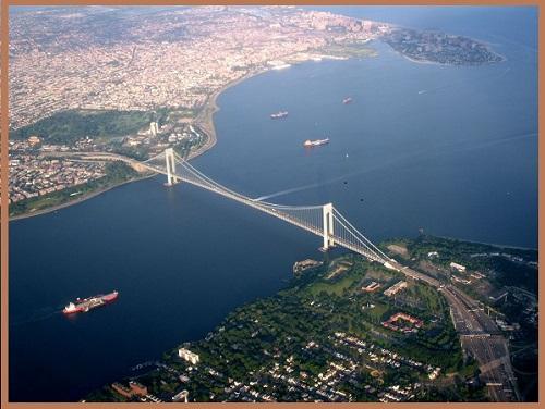 Ньюйоркский мост Верразано.