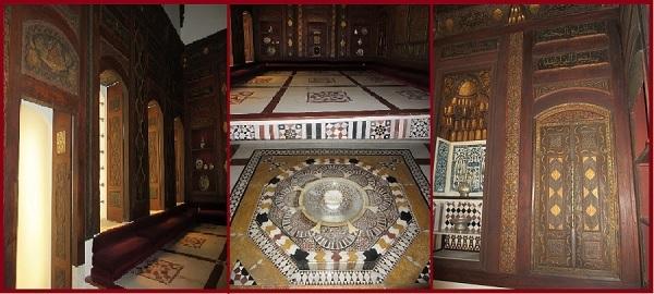 Дамасская комната Нур Аль-Дин. XVIII век.
