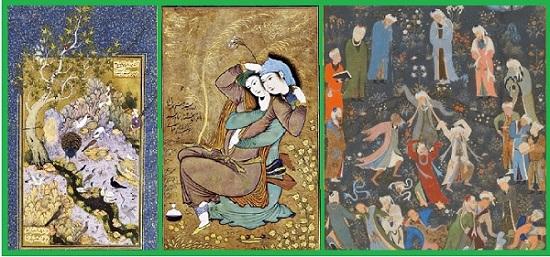 Исламская миниатюра.