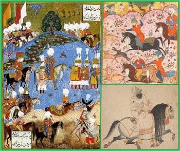 Исламские конники.