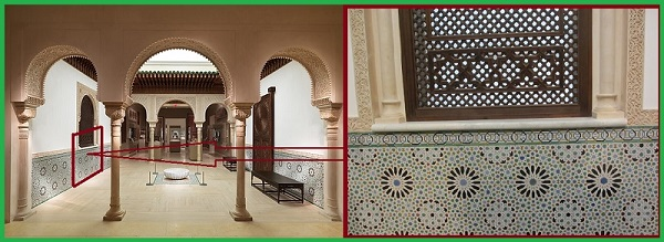 Керамическая плитка с Арабесками.