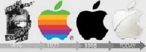 Логотип Apple в разные годы