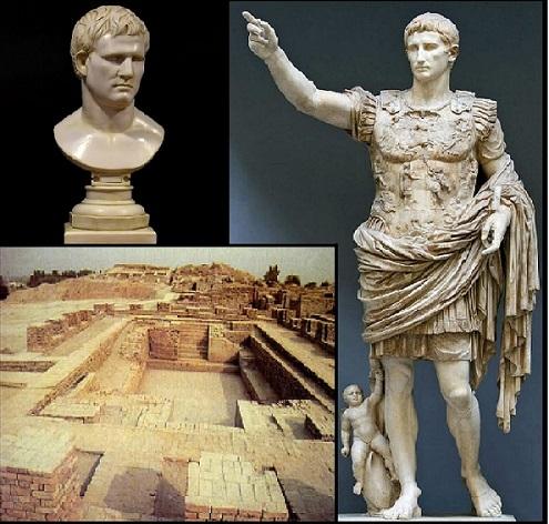 Октавиан Август даёт указания Марку Випсаннию Агриппе