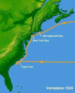 Американский маршрут 1524 года