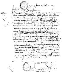 Одно из посланий Джованни Верраццано королю Франции Франциску I
