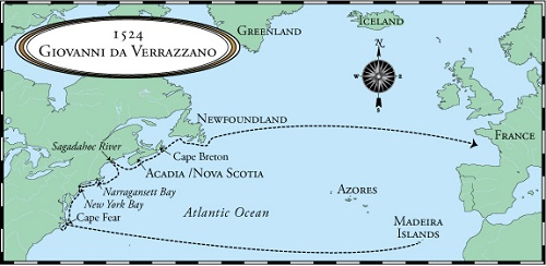 Первая экспедиция 1524 года