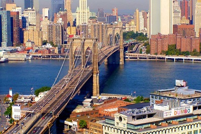 Бруклинский мост со стороны Бруклина