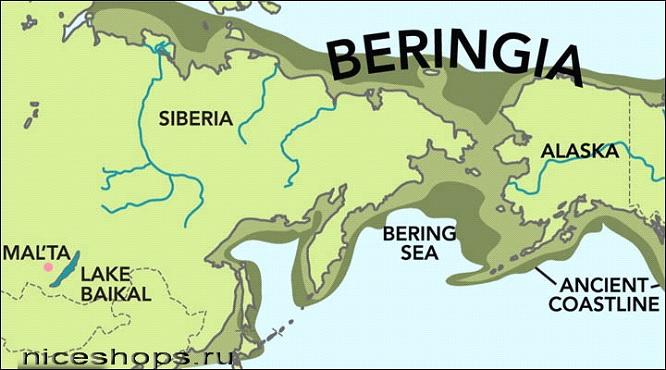 Берингия - мост между Азией и Америкой