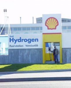Водородная заправка автомобилей в Исландии