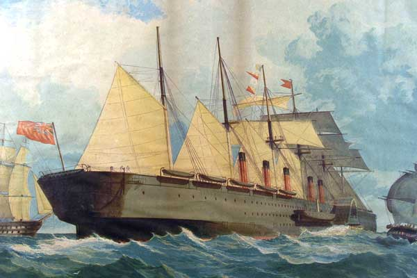 Великий корабль Брюнеля