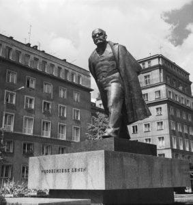 Памятник Ленину в Кракове