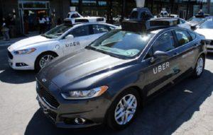 Беспилотный автомобиль UBER