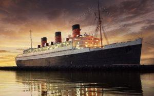 Трансатлантический лайнер Квин Мэри