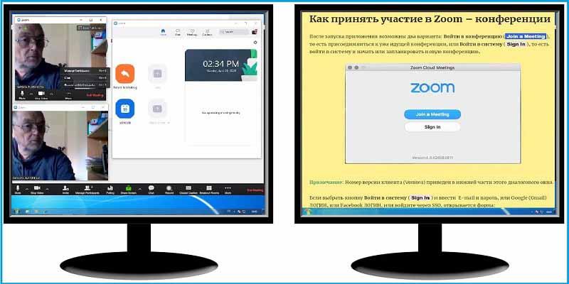 Zoom Dual-Screens